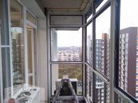 Панорамное остекление балкона под утепление